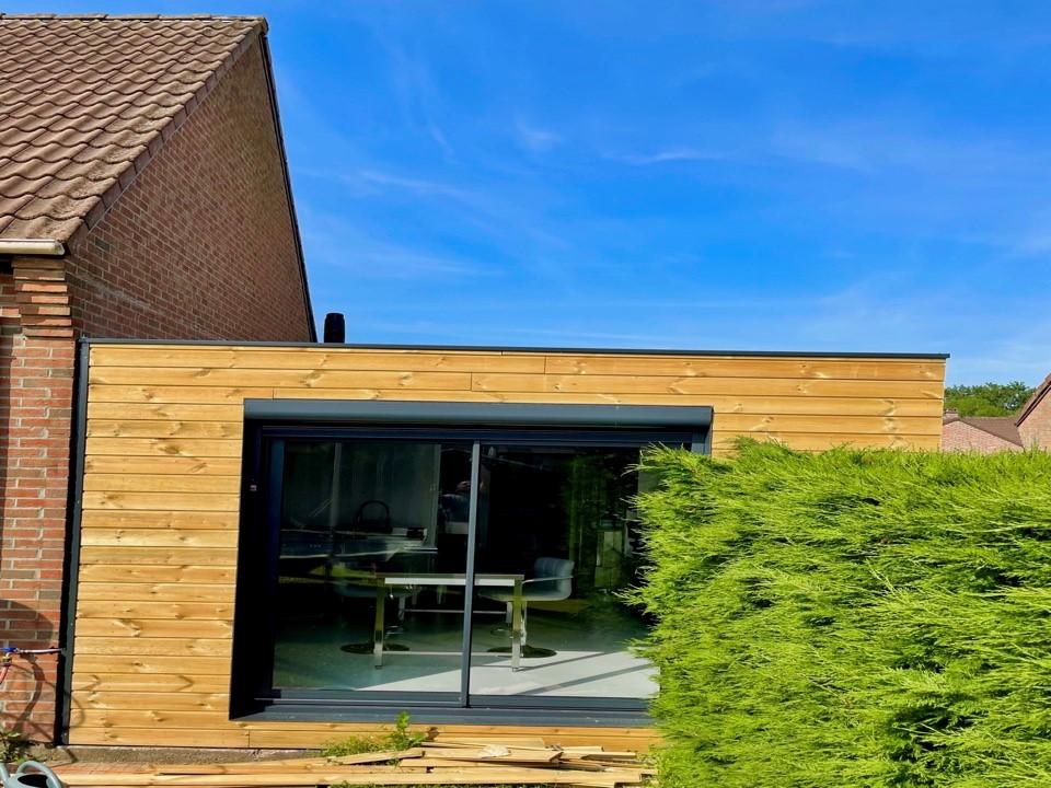 Bâtiment modulaire extension maison